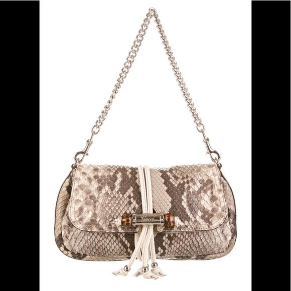 1321134d0829 Gucci Bags | Authentic Python Skin Bagclutch | Poshmark